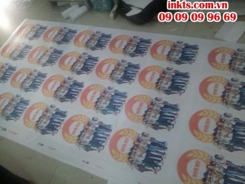 In decal, in sticker chất lượng cao, giá rẻ tại InKTS