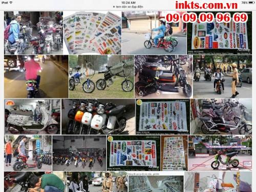 Sử dụng decal dán, sticker dán trang trí với nhiều hình ảnh dễ thương, chất lượng siêu đẹp từ InKTS để làm mới cho chiếc xe đạp điện của bạn